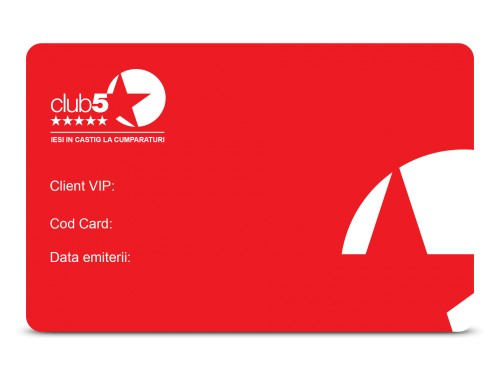 Club 5* Card de Membru
